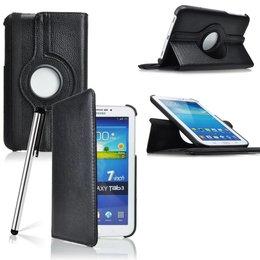 Samsung Galaxy Tab 3 7.0 Rotating Case Zwart