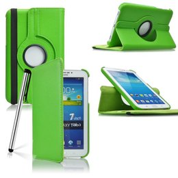 Samsung Galaxy Tab 3 7.0 Rotating Case Groen