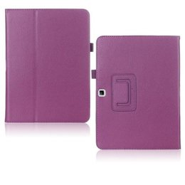 Samsung Galaxy Tab 4 10.1 Flip Folio Case Paars