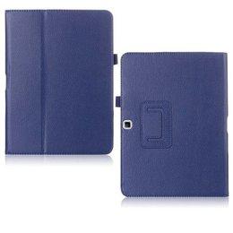 Samsung Galaxy Tab 4 10.1 Flip Folio Case Marine Blauw