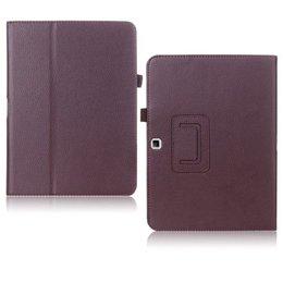 Samsung Galaxy Tab 4 10.1 Flip Folio Case Bruin