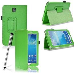 Samsung Galaxy Tab 3 7.0 Flip Stand Case Groen