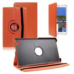 Samsung Galaxy TabPRO 8.4 Rotating Case Oranje