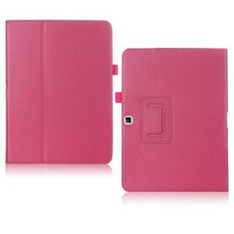 Samsung Galaxy TabPRO 10.1 Flip Folio Case Donker Roze