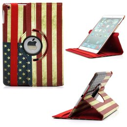 Apple iPad Mini 360 Rotating Case USA Print