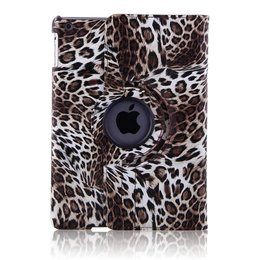 Apple iPad Mini 360 Rotating Case Luipaard Bruin