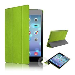 Apple iPad Air (iPad 5) Tri Fold Leather Case Groen