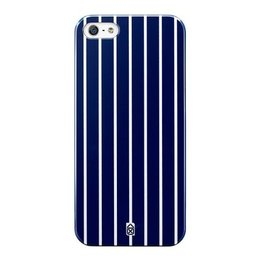 Case Scenario Apple iPhone SE / 5S / 5 Hard Case Blue Stripe