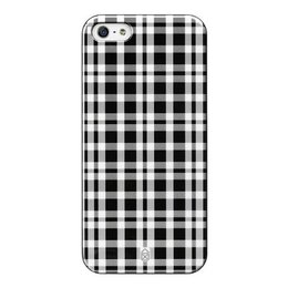 Case Scenario Apple iPhone SE / 5S / 5 Hard Case Grey Check