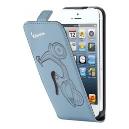 Vespa Flip Case iPhone 5 / 5S Blauw