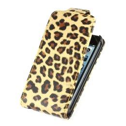Colorfone Flip Case Leopard iPhone 5 / 5S / SE