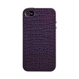 SwitchEasy Hard Case Reptile Paars iPhone 4 / 4S