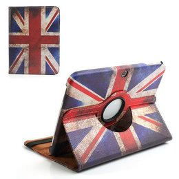 Samsung Galaxy Tab 4 10.1 Rotating Case UK Vlag