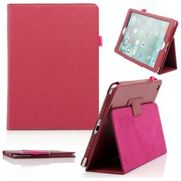 Apple iPad Flip Folio Case Roze