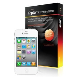 Copter iPhone 4/4S Army Screen Protector Clear