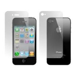 Clear Front+Back Screen Protector iPhone 4/4S