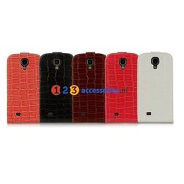 Crocodile Faux Flip S4 Case