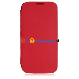 Galaxy S4 Flip Cover Rood