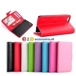 Wallet Case Portemonnee Hoesje voor iPhone 6 / 6S