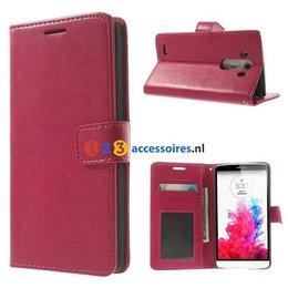 LG G3 Vintage Hoesje Roze