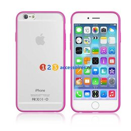 Devia Apple iPhone 6 / 6S Colorful Case Roze