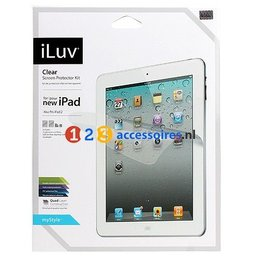 iLuv 2 Stuks Screen Protector Clear Voor Apple iPad