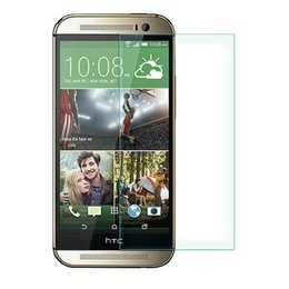Tempered Glass screen protector voor HTC One M8