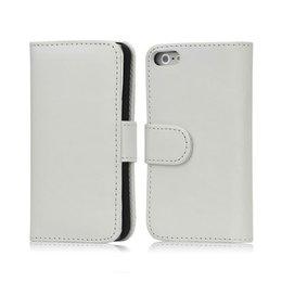 iPhone 5 / 5S Wallet Case Portemonnee Wit