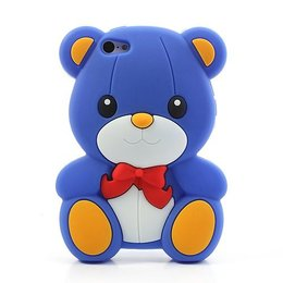 3D Teddy Bear Silicone Case iPhone SE / 5 / 5S