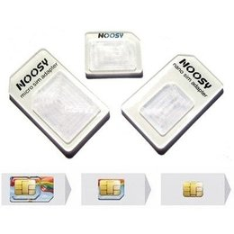 SIM Adapter Kit 3 pack (Standaard / MicroSIM / NanoSIM)