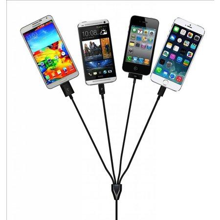 5 in 1 USB Oplaad en Sync Kabel
