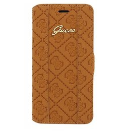 GUESS iPhone 6 Plus / iPhone 6S Plus Book Case Hoesje Bruin