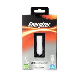 Energizer 2 in 1 USB Autolader Lightning aansluiting