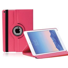 Roterende iPad Air 2 Hoesje Donker Roze