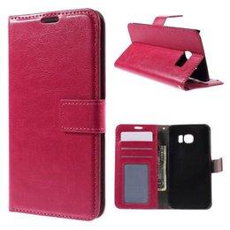 KDS Roze Samsung Galaxy S6 EDGE Wallet