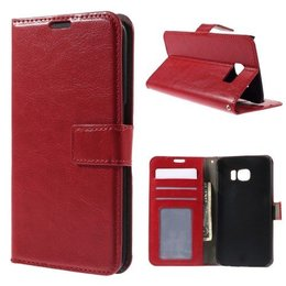 KDS Rood Samsung Galaxy S6 EDGE Wallet