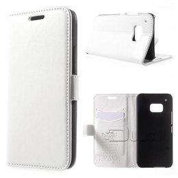 KDS HTC One M9 Portemonnee Hoesje Wit