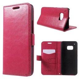 KDS HTC One M9 Portemonnee Hoesje Roze