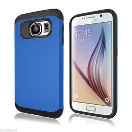 Hybrid Protective Case voor de Samsung Galaxy S6 Blauw