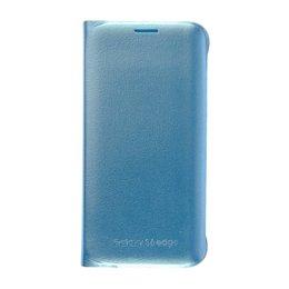 Blauw Samsung Galaxy S6 EDGE Flip Case