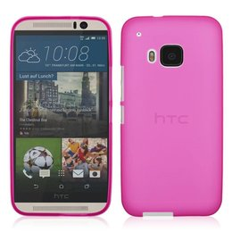 Matte TPU Back Cover HTC One M9 Roze