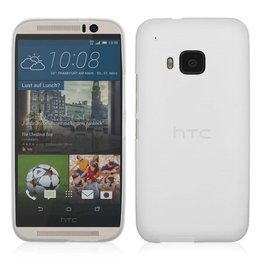 Matte TPU Back Cover HTC One M9 Transparant