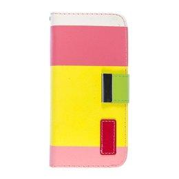 Apple iPhone 6 / 6S Painting Series Telefoonhoesje Geel