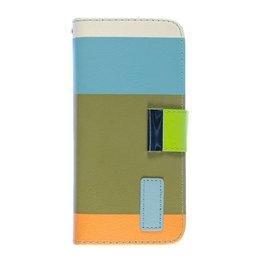 Apple iPhone 6 / 6S Painting Series Telefoonhoesje Khaki