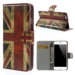 Apple iPhone 6 / 6S Wallet Case Portemonnee Hoesje UK