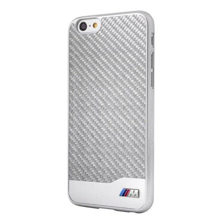 BMW M Carbon Hardcase voor Apple iPhone 6 / 6S Zilver