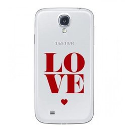 Samsung Origineel Galaxy S4 Flip Cover Love