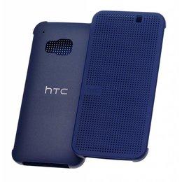 HTC Dot Flipcase Hoesje voor HTC One M9 - Blauw