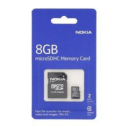 NOKIA MU-43 microSD geheugenkaart - 8GB