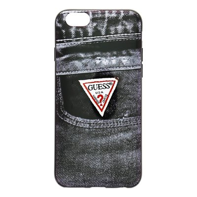 GUESS Apple iPhone 6 / 6S Jeans TPU Back Cover